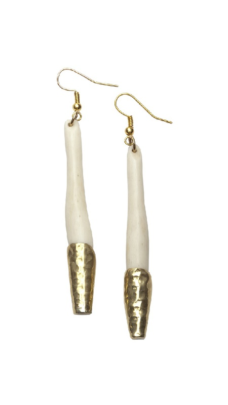 Raven + Lily Gold-Dipped Earrings