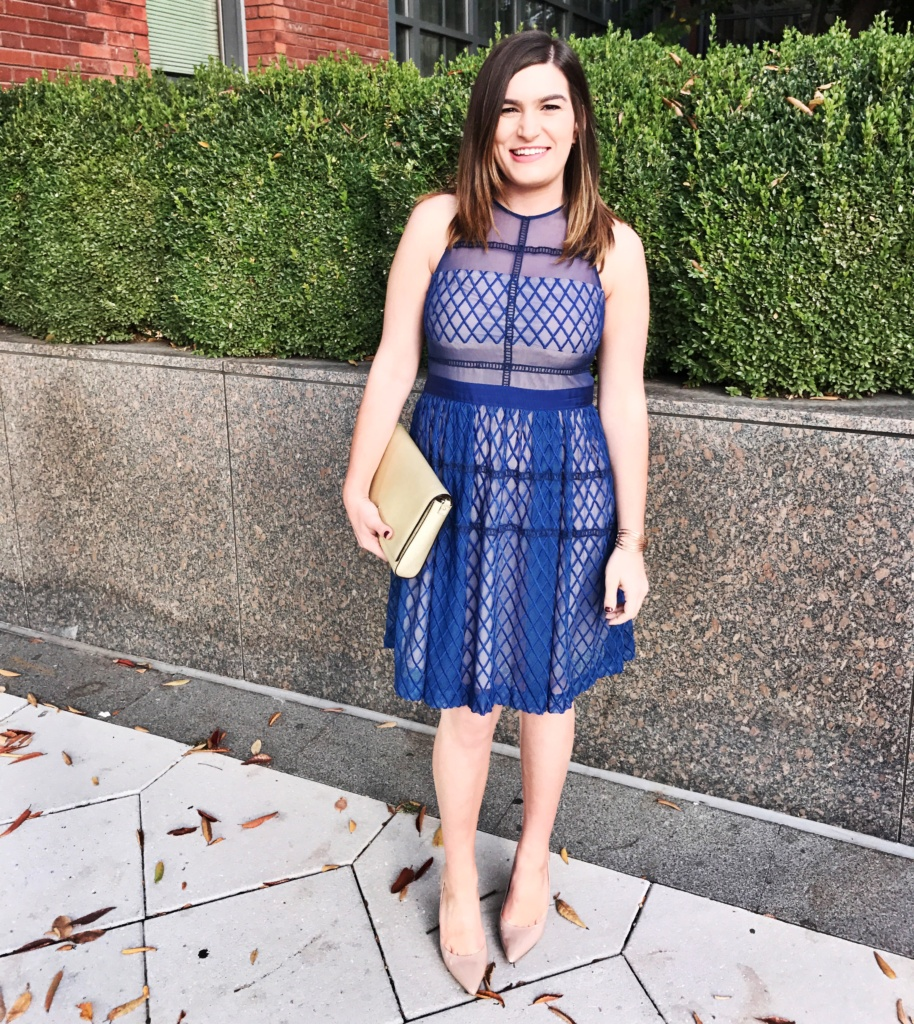 Rent the Runway | Slate & Willow dress with Kate Spade bag