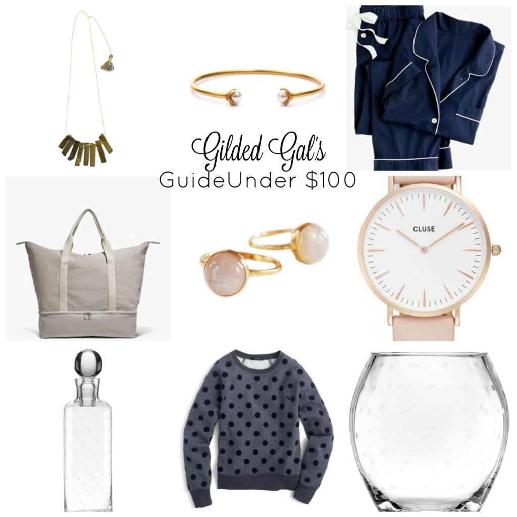 Gilded Gal's Holiday Shopping Guide Under $100