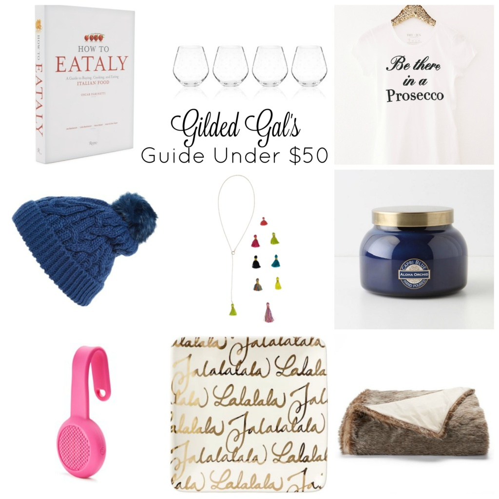 Gilded Gal's Holiday Shopping Guide Under $50