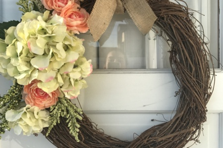 DIY-Spring Wreath