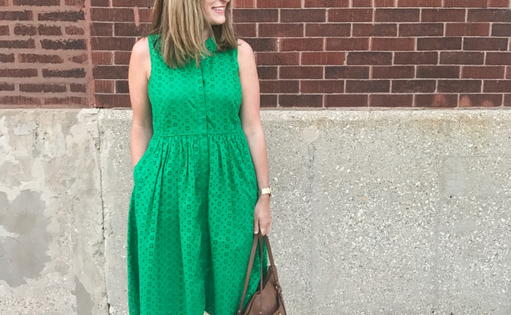 J. Crew Eyelet Dress | Dresses for Work & Play Under $100