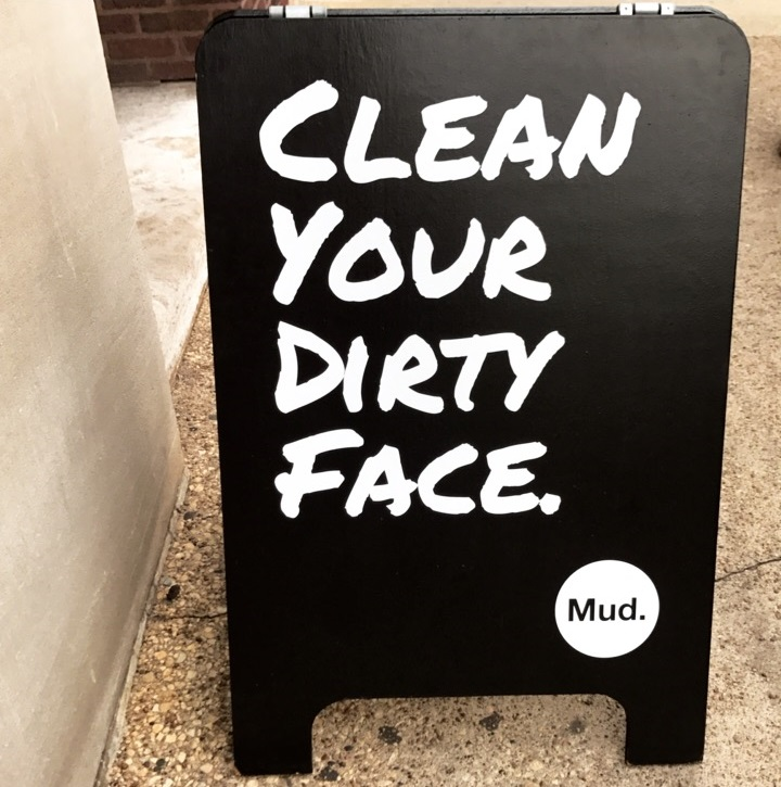 MUD. Facial Bar. Charcoal detox mask. Groupon Beauty Now.