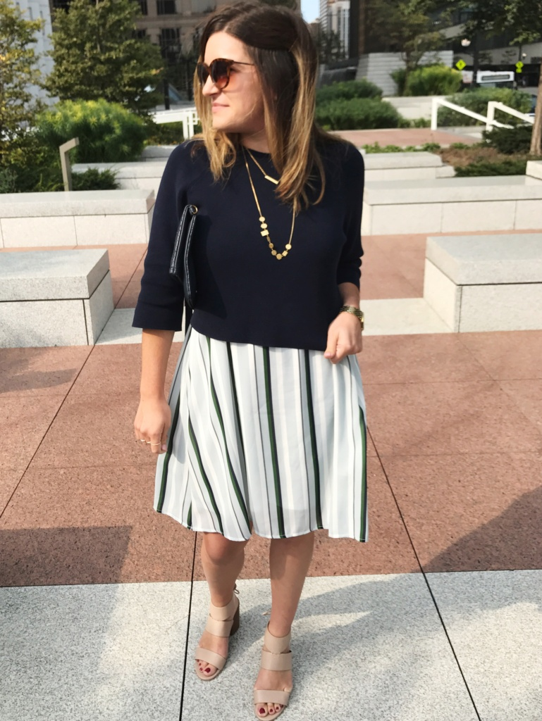style tips to take your summer dress from June to October,transition summer dress, fall layers, style a sweater over dress