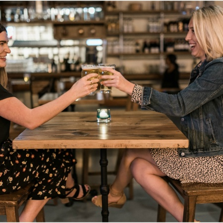 Gilded Gal's Guide to Girls' Night Out at Block 37 | sip, shop, snack