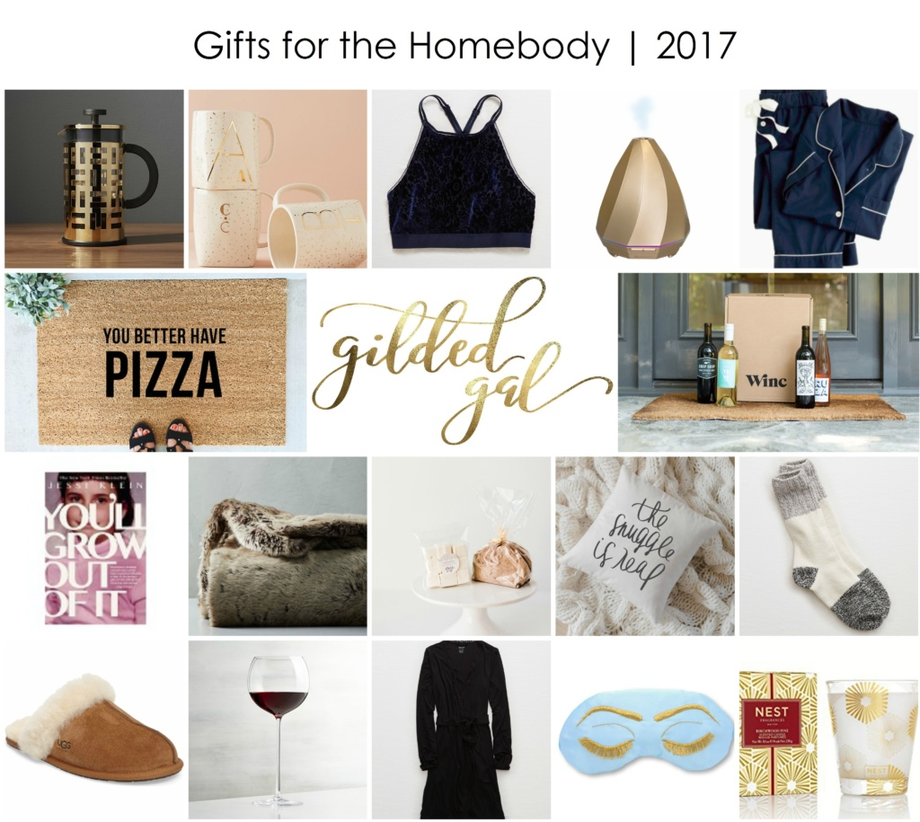 gifts for the homebody | Under $100 | Gilded Gal Holiday 2017