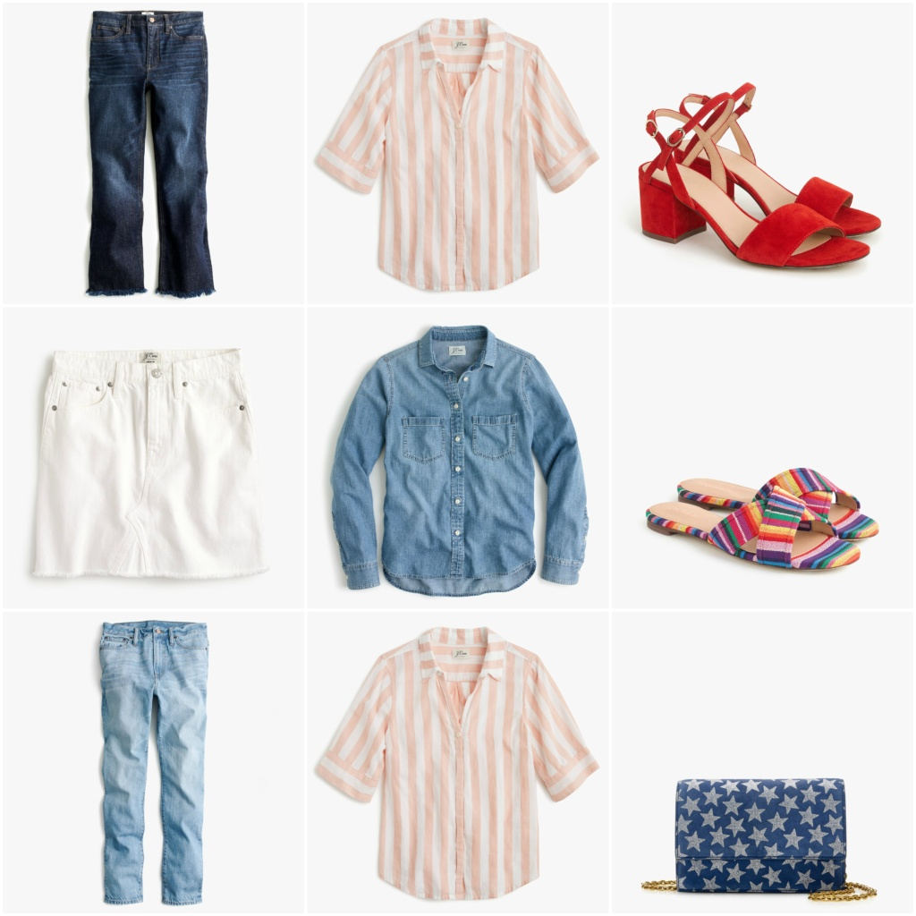 J.Crew Spring Lookbook_2018_striped_top_casual_friday_spring_look
