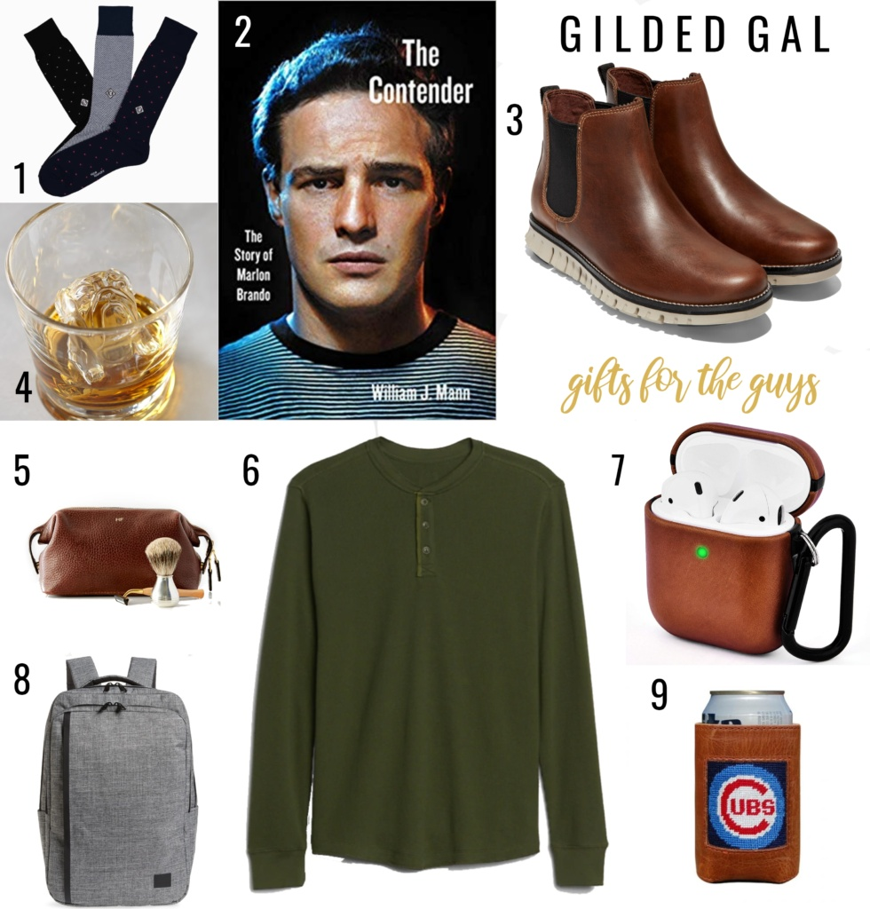 Gifts For The Guys Holiday Gift Guide 2019 Gilded Gal